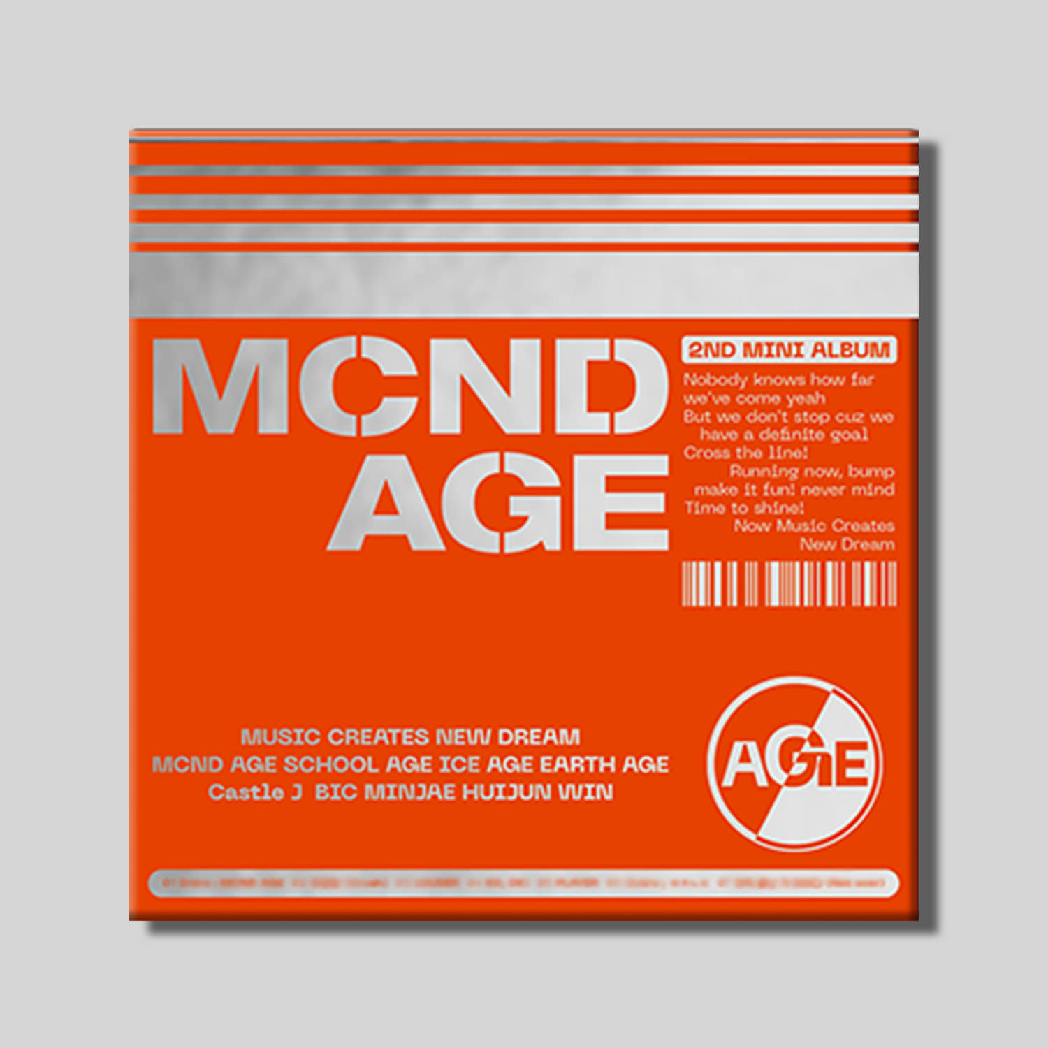 MCND - 2ND MINI ALBUM [MCND AGE] (HIT Ver.)케이팝스토어(kpop store)