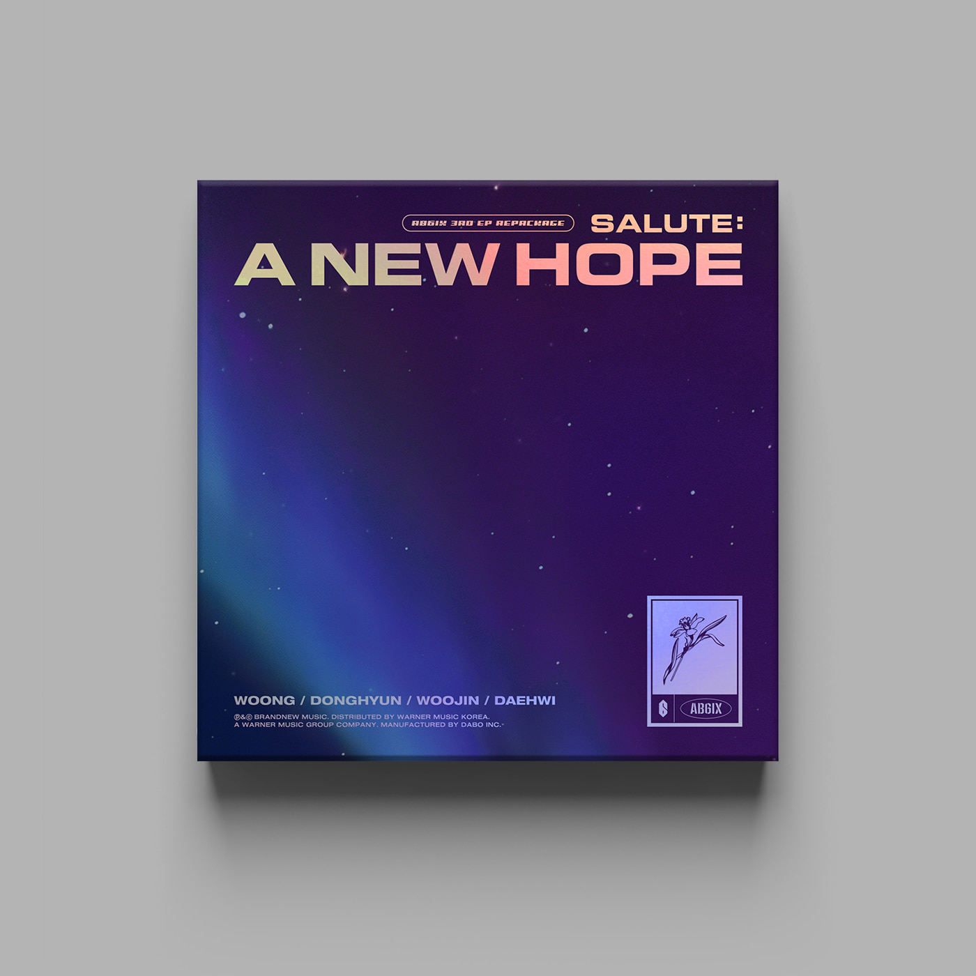 AB6IX - 3RD EP REPACKAGE [SALUTE : A NEW HOPE] (HOPE Ver.)케이팝스토어(kpop store)