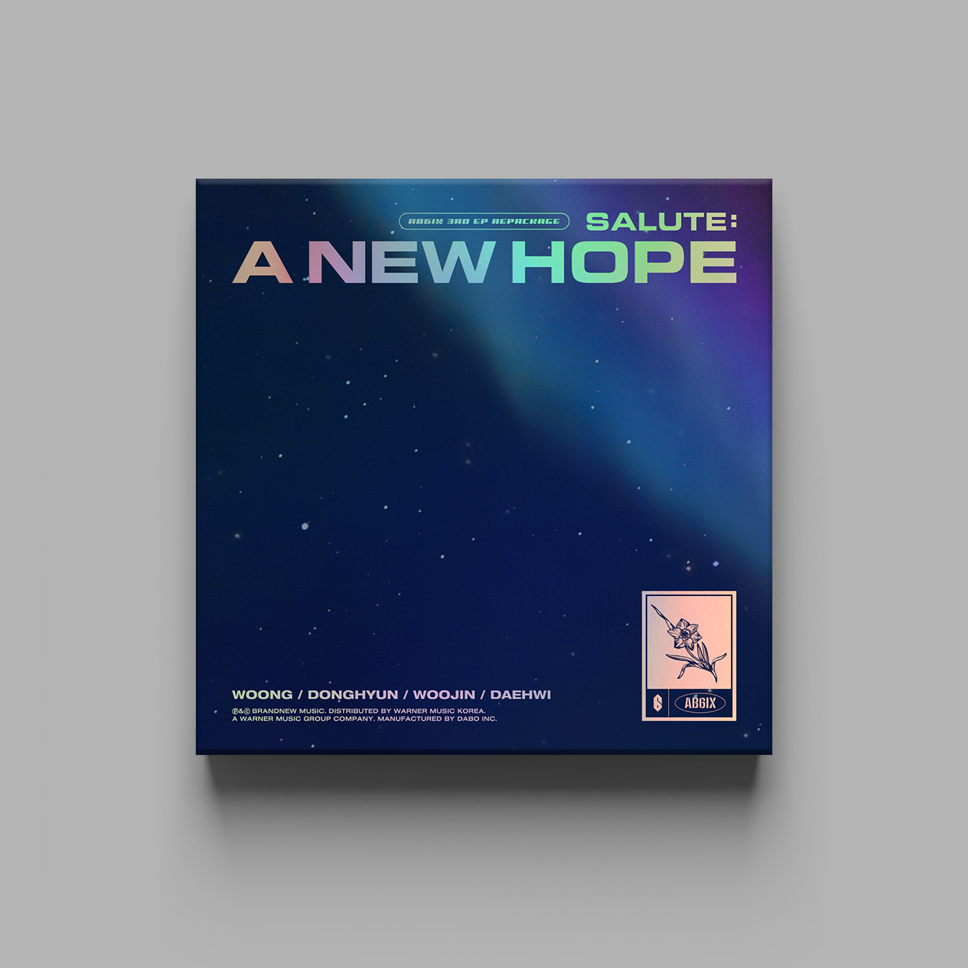 AB6IX - 3RD EP REPACKAGE [SALUTE : A NEW HOPE] (NEW Ver.)케이팝스토어(kpop store)