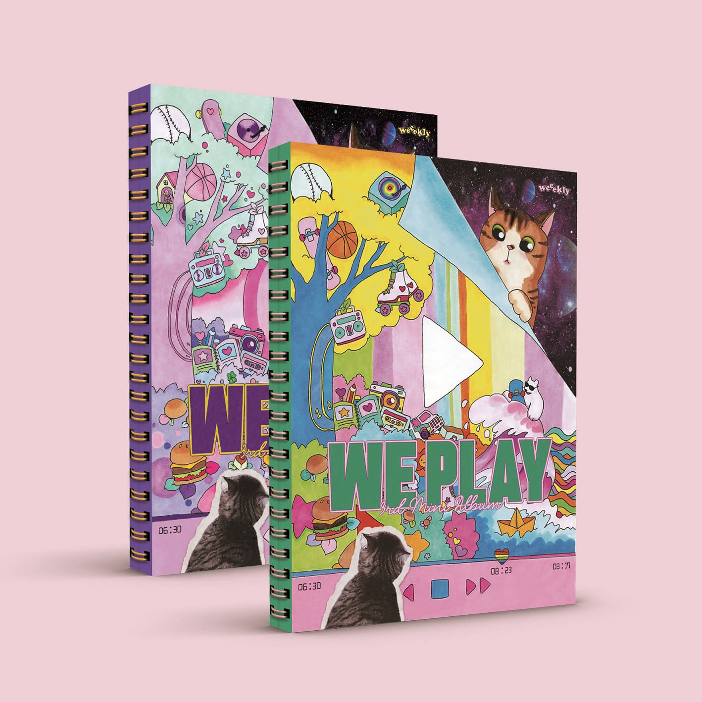 [PRE-ORDER] Weeekly - Mini Album Vol.3 [We play] (2CD SET)케이팝스토어(kpop store)