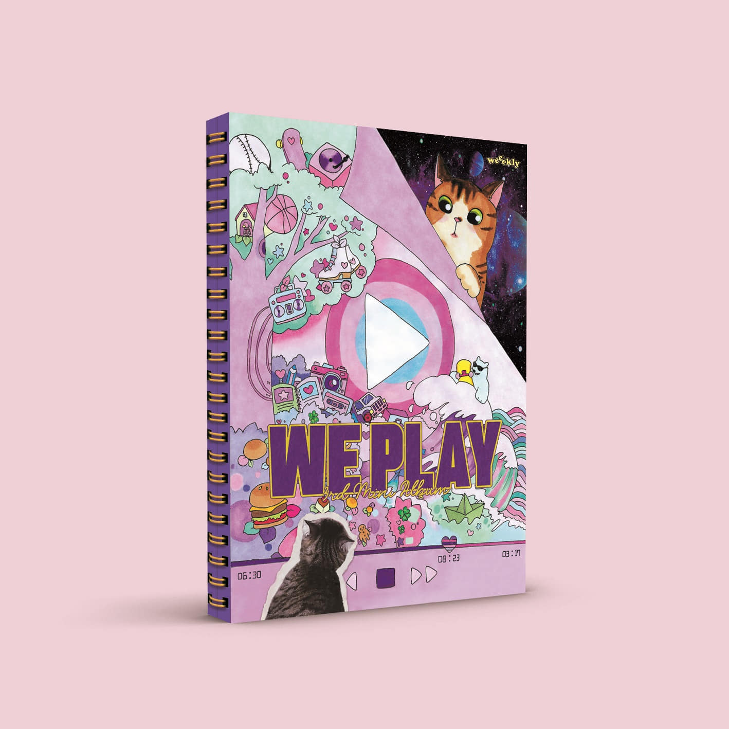 [PRE-ORDER] Weeekly - Mini Album Vol.3 [We play] (UP Ver.)케이팝스토어(kpop store)