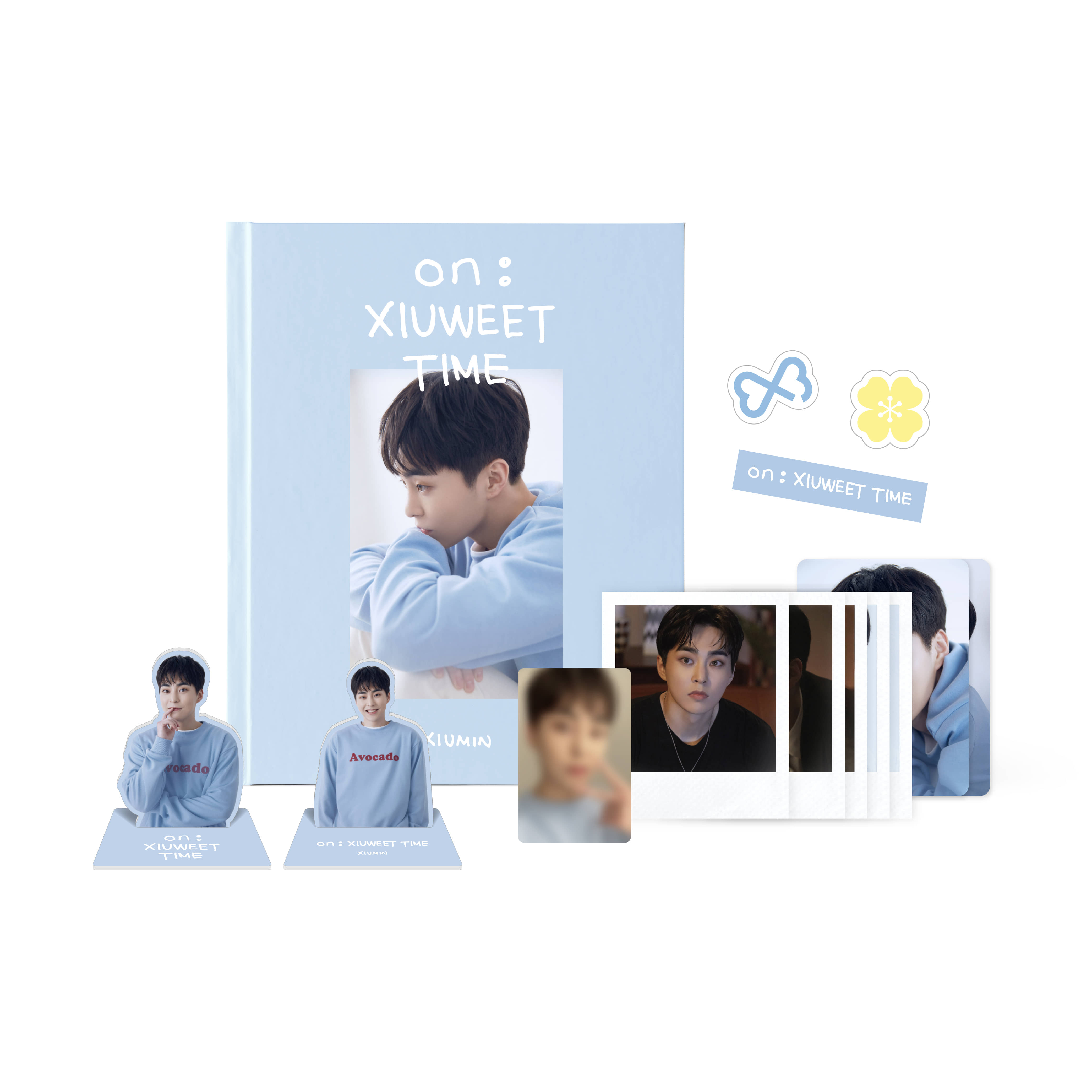 [PRE-ORDER] 엑소 시우민(EXO XIUMIN) - ON : XIUWEET TIME PHOTO STORY BOOK케이팝스토어(kpop store)